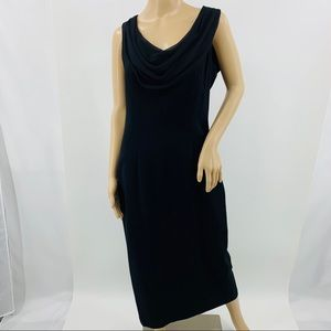Carole Little Dresses Black Sleeveless Dress